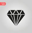 diamond icon simple flat symbol perfect vector image