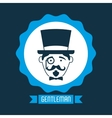 gentleman icon vector image