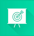 management consulting - icon for graphic vector image vector image