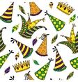 Mardi Gras seamless pattern vector image vector image