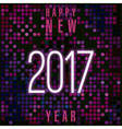 New Year template vector image vector image
