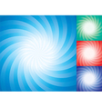 star burst backgrounds vector image vector image