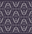 tribal seamless pattern with owl vector image vector image