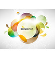 Abstract Background in Colour vector image