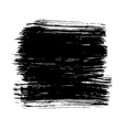 Black ink hand drawn paintbrush brush vector image vector image