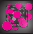 eps10 abstract overlapping circle concept vector image vector image