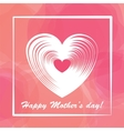 Happy mother day colorful background vector image vector image