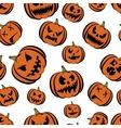 pumpkin halloween vector image vector image