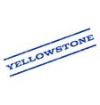Yellowstone Watermark Stamp
