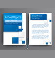 business corporate brochure template design vector image vector image