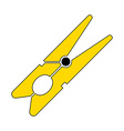 Clothes pin icon vector image