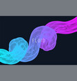 creative design poster abstract gradient template vector image vector image