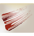 grunge blood stain vector image vector image