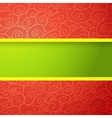 Red and Green Bright Background vector image vector image