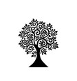 bodhi tree logo template tree of life concept vector image