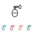 inhalator icon vector image vector image