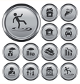 Insurance buttons vector image vector image