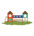kids playground design vector image vector image