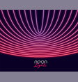 neon lights in curve lines style abstract vector image vector image
