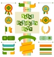 Saint Patricks Day seamless pattern vector image