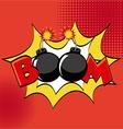 comic pop art vector image vector image