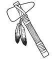 Native american tomahawk vector | Price: 1 Credit (USD $1)