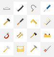 set of 16 editable instrument icons includes vector image vector image