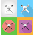 sport flat icons 01 vector image