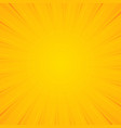 sunburst background background with radial lines vector image vector image