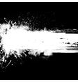 White ink blots banner vector image vector image