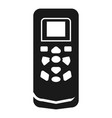 air conditioning remote control icon simple style vector image vector image