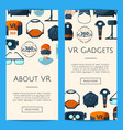 banners with flat style vector image vector image