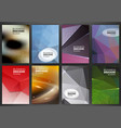 brochures and flyers template vector image vector image