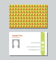 Businessman card6 vector image vector image