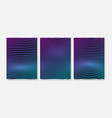 design elements gradient wave lines for business vector image