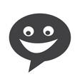 dialogue icon vector image