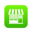 store icon digital green vector image