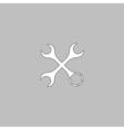 Tools computer symbol vector image vector image
