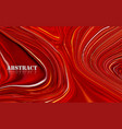 abstract red mixture acrylic paints surface vector image vector image