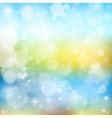 bright glowing particles vector image