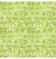 Green grass texture seamless pattern background vector image