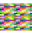multicolored colorful seamless brick texture vector image vector image