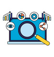 search engine optimization vector image vector image