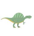 spinosaurus dinosaur in cartoon style vector image