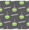 Test-tubes Seamless Pattern Green vector image vector image