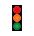 traffic light volume 2001 vector image