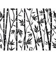bamboo forest texture bamboo forest silhouette vector image vector image