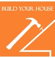 Build your house vector image vector image