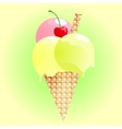 Fresh ice cream such logo Jpeg version also vector image