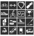 health and fitness vector image